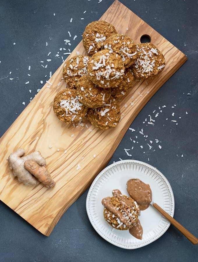 Golden Milk Breakfast Muffins