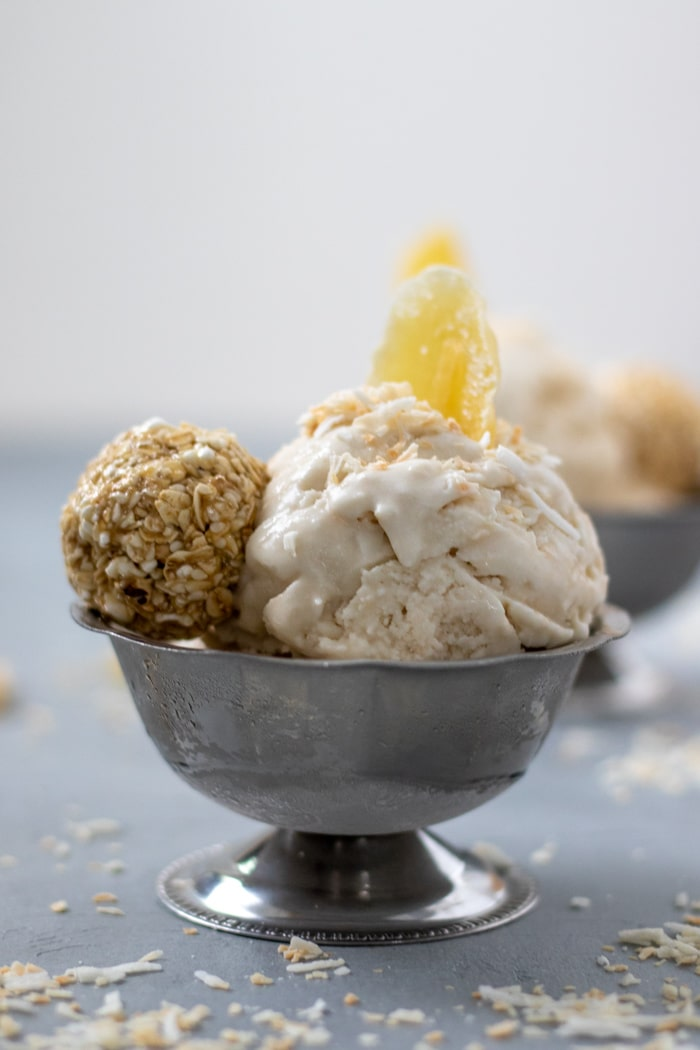 Double Coconut Ginger Ice Cream-6