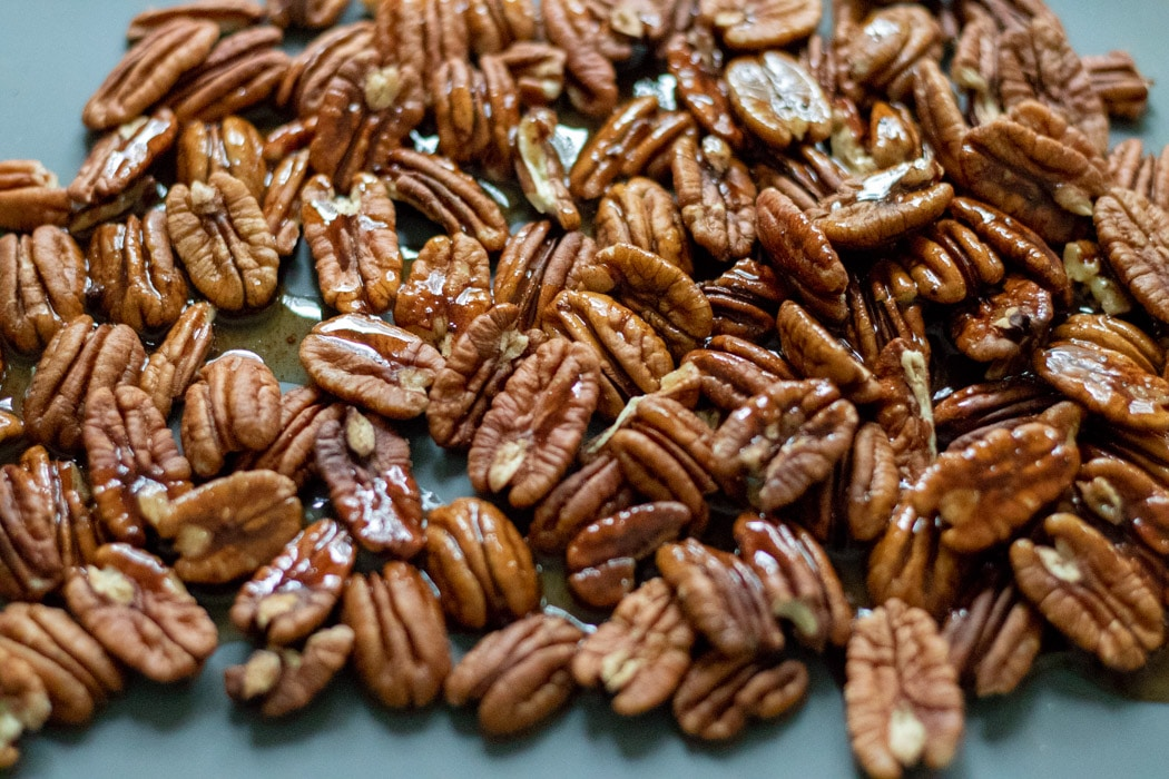 Candied Pecans Prep