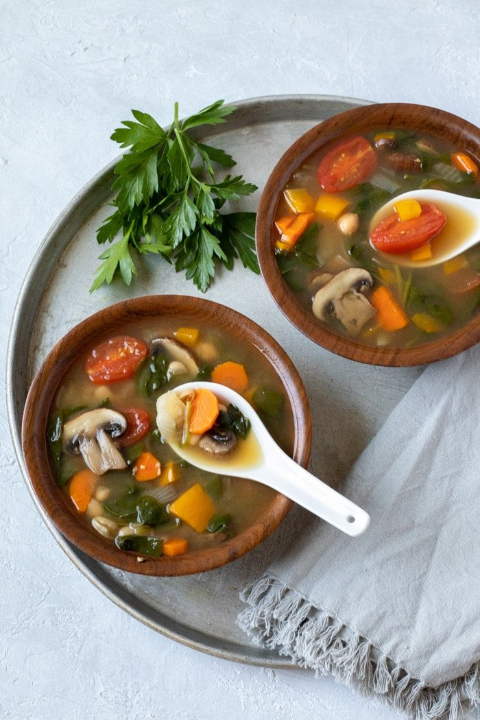 Vegetable-rich Vacation Soup