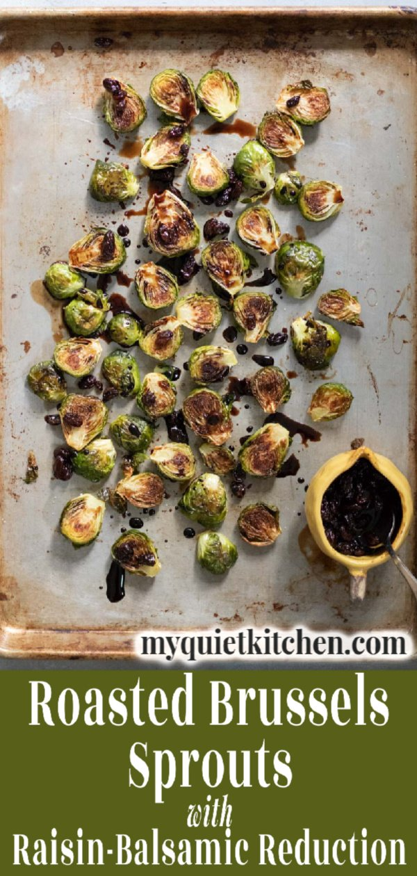 Brussels Sprouts pin for Pinterest