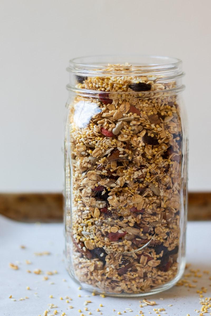 Crunchy Oil-Free Granola-3