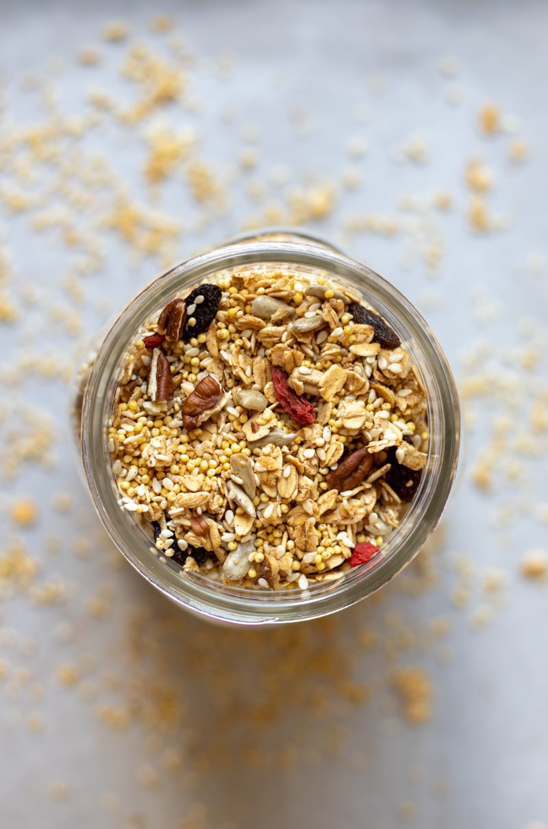Crunchy Oil-Free Granola - vegan