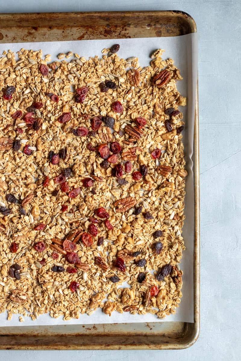Crunchy Oil-Free Granola