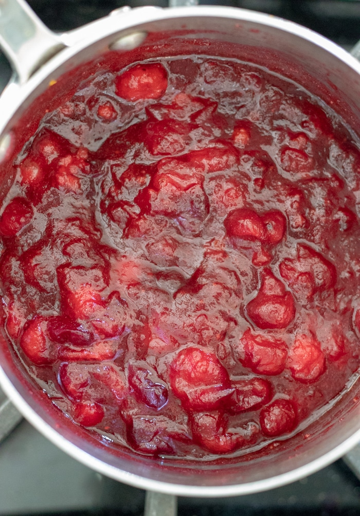 Perfect Vegan Cranberry Sauce