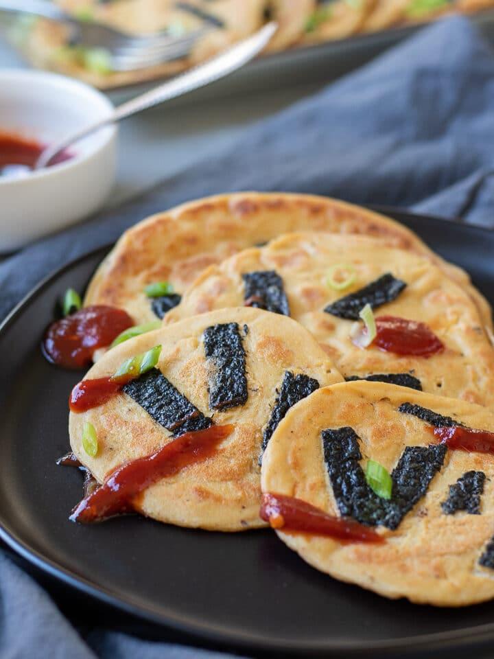 Savory Tofu Pancakes