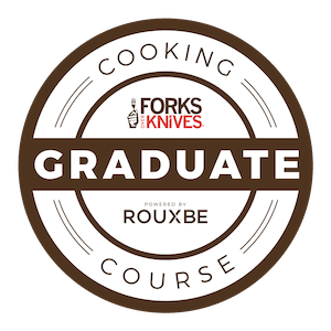 Rouxbe online culinary program graduate
