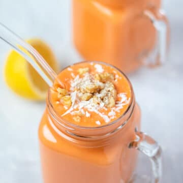Tropical Carrot Cake Smoothie