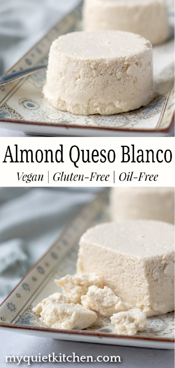 Almond Queso Blanco pin for Pinterest
