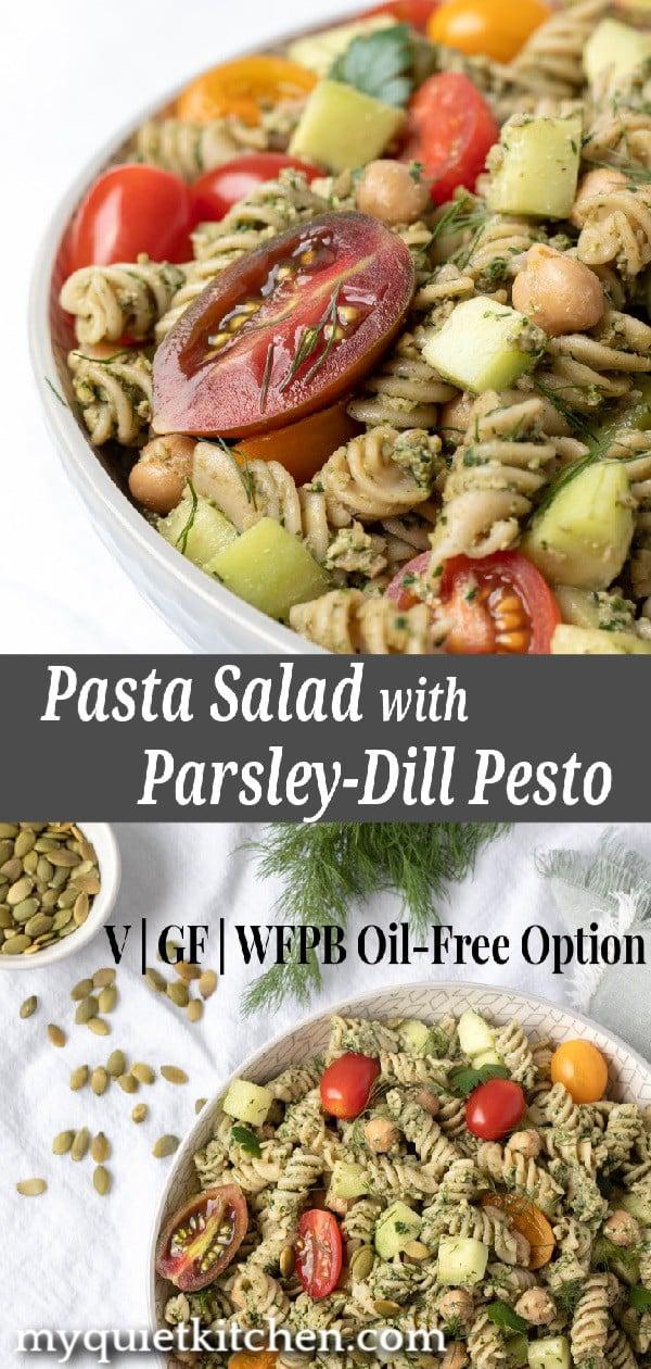 Pasta Salad pin for Pinterest