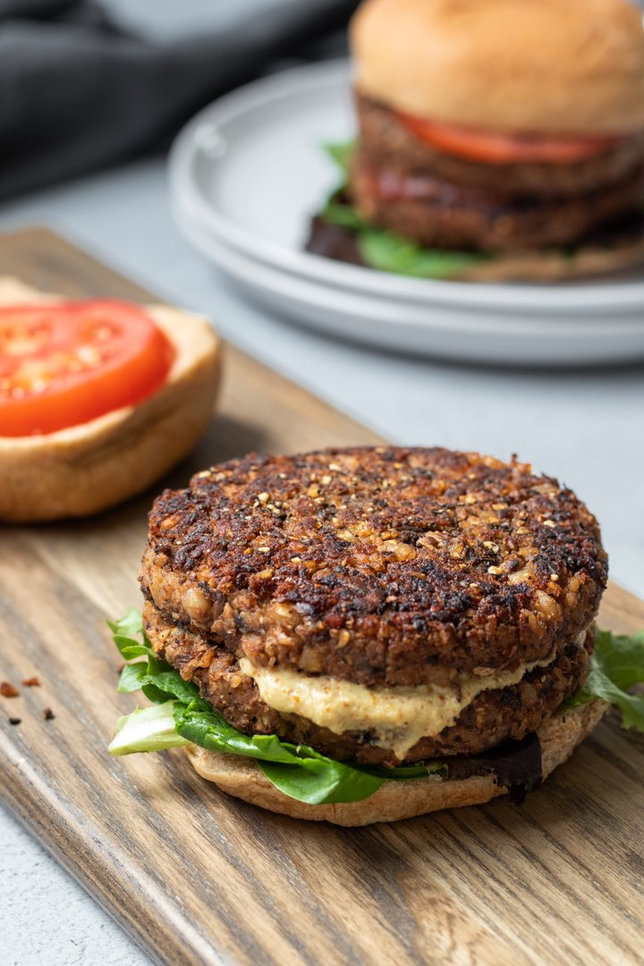 Vegan Mushroom Barley Burgers My Quiet Kitchen