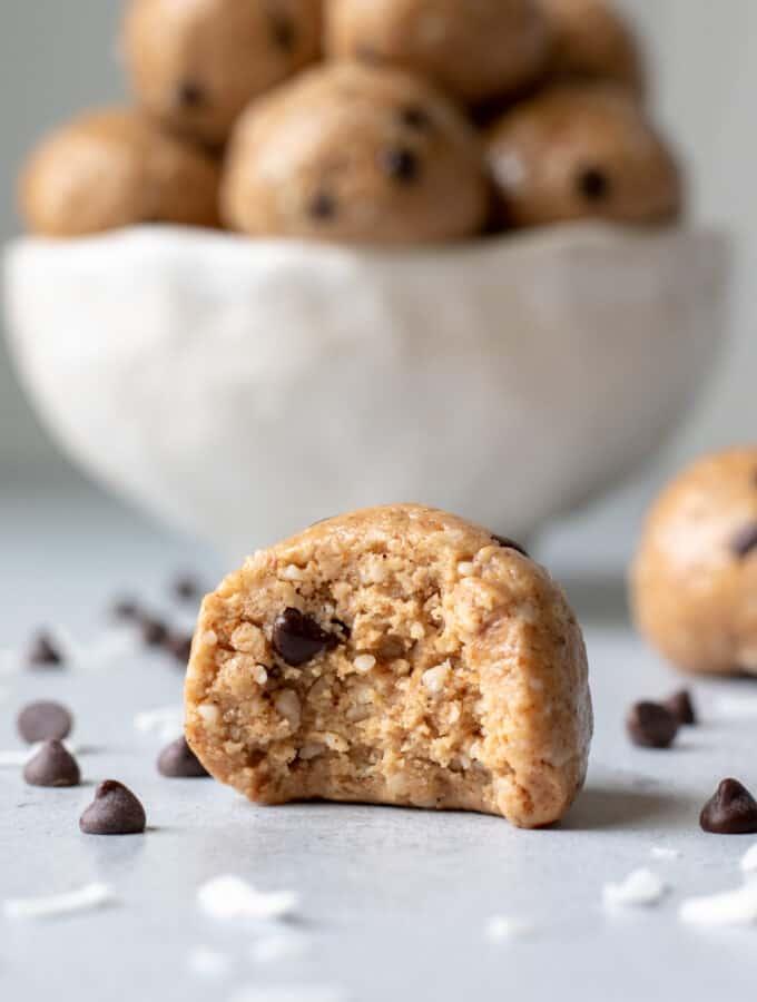 Almond-Coconut Protein Balls