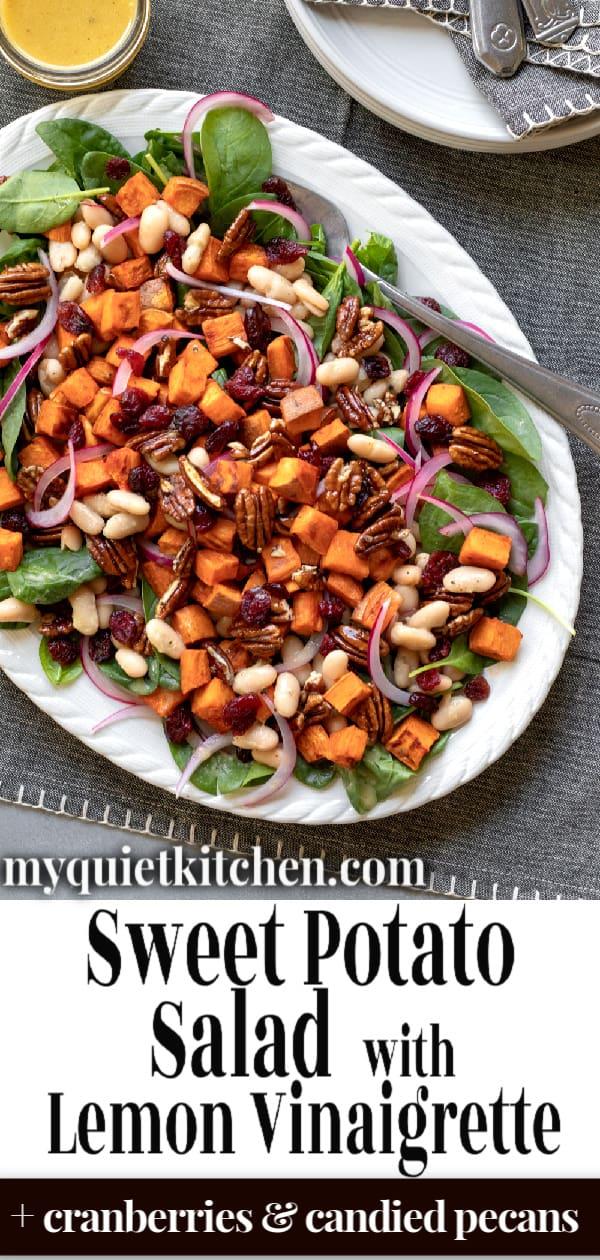Sweet Potato Salad pin for Pinterest