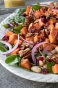 Sweet Potato Salad on a platter