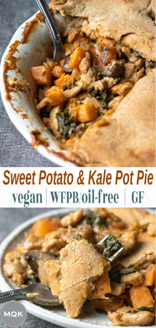 Vegan Pot Pie pin for pinterest