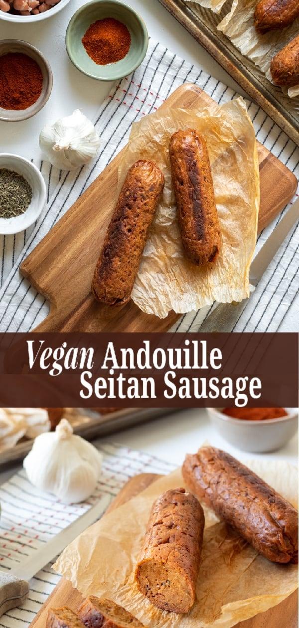 Vegan Andouille Sausage pin