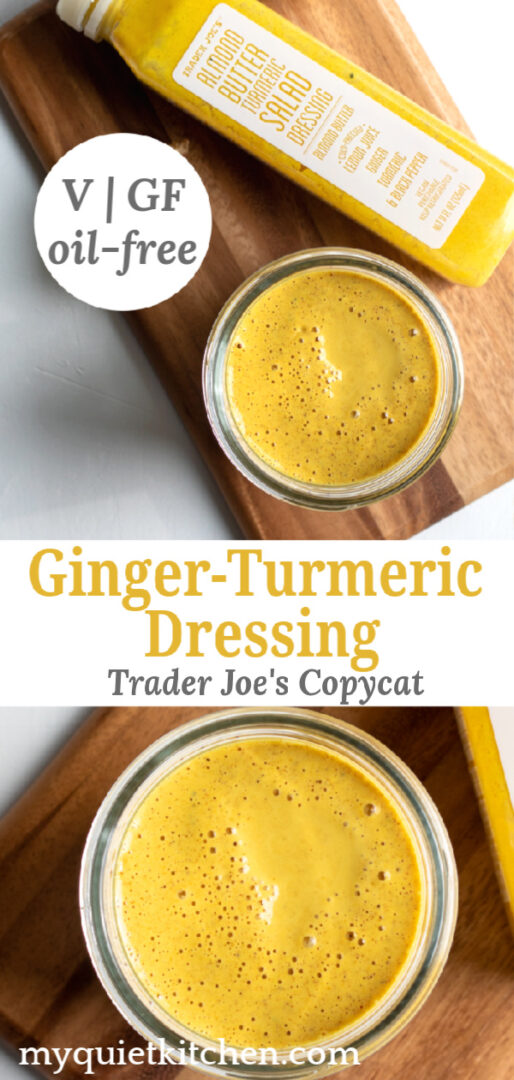 Turmeric Dressing pin for Pinterest
