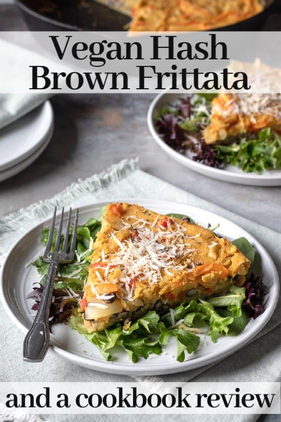 Vegan Frittata pin for Pinterest