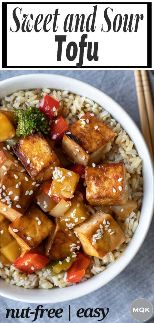 sweet and sour tofu pin