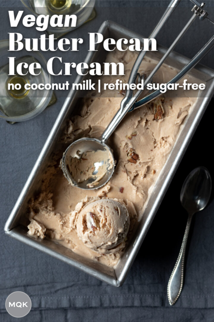 pin to save ice cream recipe on Pinterest