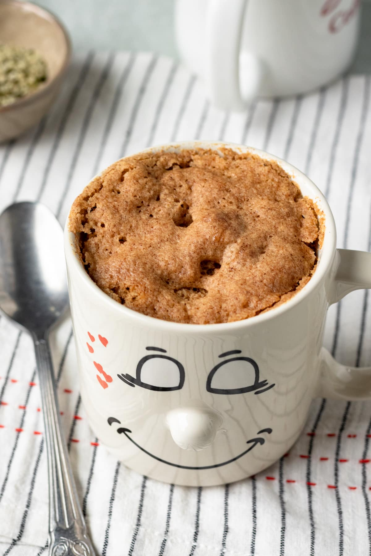 Vegan Breakfast Mug Muffin Oil Free My Quiet Kitchen