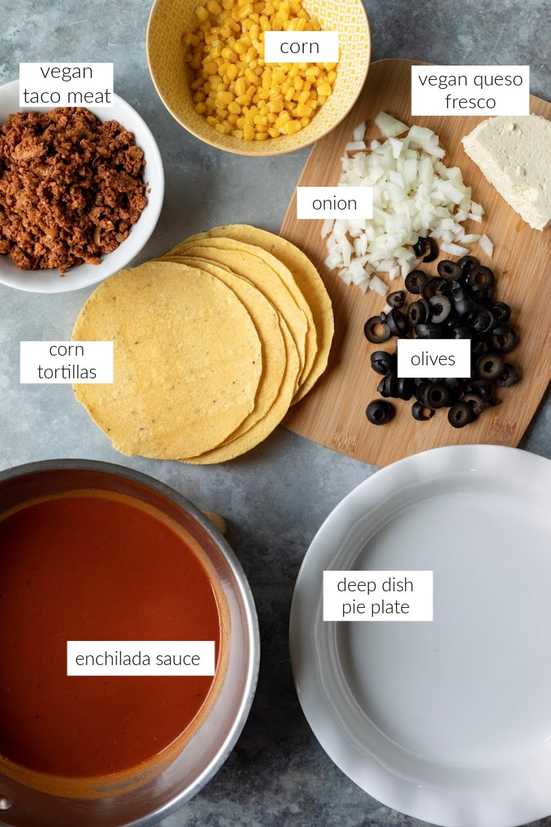 labeled photo of ingredients